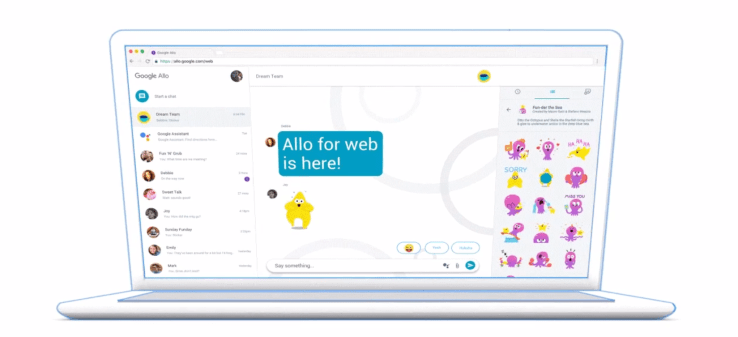 Google Allo for Web is coming to your iPhone soon